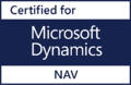 Microsoft Dynamics NAV based financial system logo