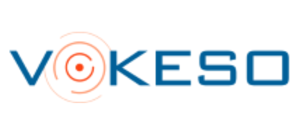 Elysys financial software partner Vokeso logo